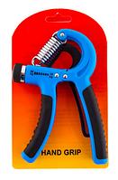 Эспандер кистевой с регулируемой нагрузкой Esp-333 (голубой)