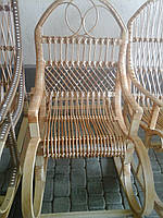 "Кресло качалка из лозы ""Сафари"""
