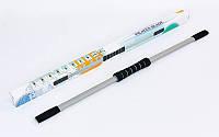 Гибкий стержень для пилатеса PILATES BLADE R-580 (пластик, неопрен, l-122см)