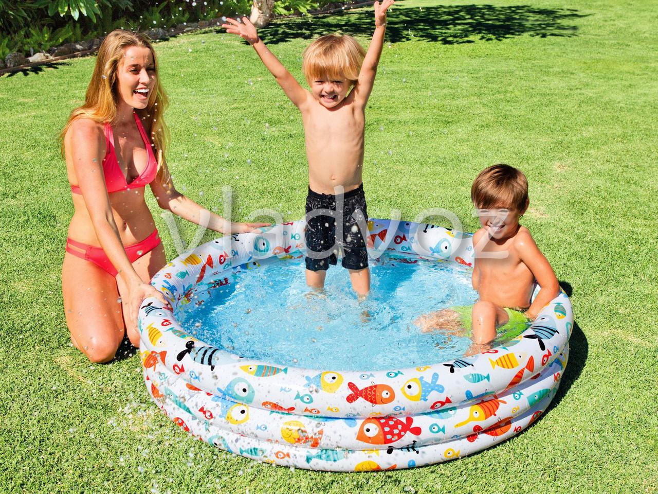Детский надувной бассейн 59431