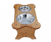 Подставка для кормления собак  № 2,  Н220, 520*290