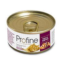 Консерви Profine Tuna & Salmon для кішок, тунець і лосось, 70 г