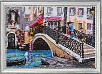 """Набор для вышивки бисером """"Венецианский мостик"""""""