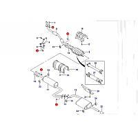 Гайка шпильки выпускного коллектора и приёмной трубы Ланос, Авео Корея