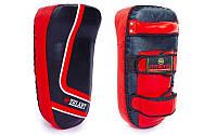 Пад (тай-пэд) Кожа ZEL ZB-3064 (1шт, р-р 12x17x37см, черно-красный)