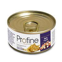 Консервы Profine Sea Food для кошек, морепродукты, 70 г