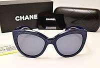 Женские солнцезащитные очки Chanel 5232 LUX (Синий цвет)