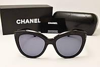Женские солнцезащитные очки Chanel 5232 LUX (Черный цвет)
