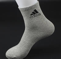 Мужские носки Adidas серые