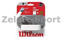 Обмотка на ручку ракетки теннис,сквош,бадминтон Grip WILSON WRZ486400 PRO HYBRID REPL (1шт)