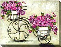 """Набор для вышивки бисером """"Винтажные цветы 3"""""""