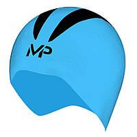 Шапочка для плавання X-O р.S (синьо-чорний)