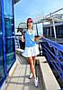 """Стильное молодежное платье мини """" Теннис """" Dress Code"""