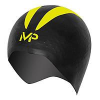Шапочка для плавання X-O р.S (чорно-жовтий)