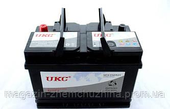 Автомобильный Аккумулятор 12v 60A UKC. Аккумулятор с уровнем электролита автомобильный., фото 2