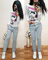 Женские модные спортивные брюки /штаны (2 цвета)