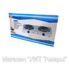 Электроплита MS 5802.Электроплита Domotec MS-5802 плита настольная., фото 3