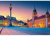 "Кастор пазлы 500 ""Замковая площадь, Варшава"" 47*33см, В-52486"
