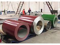Рулон оцинкованный с полимерным покрытием от 0,35 мм до 1,5 мм Arcelor Mittal (Румыния)