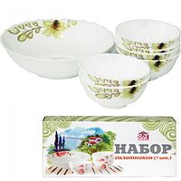 Набор салатников 7 шт Лилия SNT 558-18-022