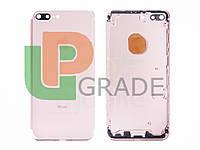 Корпус для iPhone 7 Plus, розовое золото
