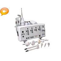 Косметологический комбайн 6-в-1 модель 101, дарсонваль,гальваника, браш ,вакуум, спрей, уз-форез