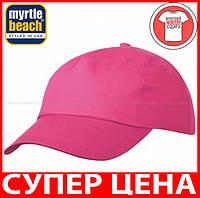 Пятипанельная кепка для промо акций цвет МАЛИНОВЫЙ mb001