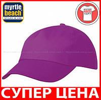 Пятипанельная кепка для промо акций цвет ФИОЛЕТОВЫЙ mb001
