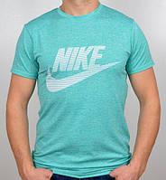 Летняя мужская  футболка меланжированная в расцветках