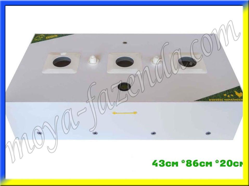 Інкубатор пластиковий Міні-84 з ламповим нагріванням
