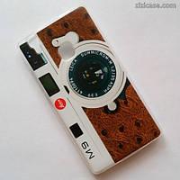 Силиконовый чехол с рисунком для Doogee X5 Max / Max Pro (Фотоаппарат Leica M9)