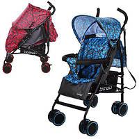 Детская коляска трость Bambi M 3430-2 синяя,красная