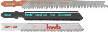Лобзиковые пильные полотна KWB