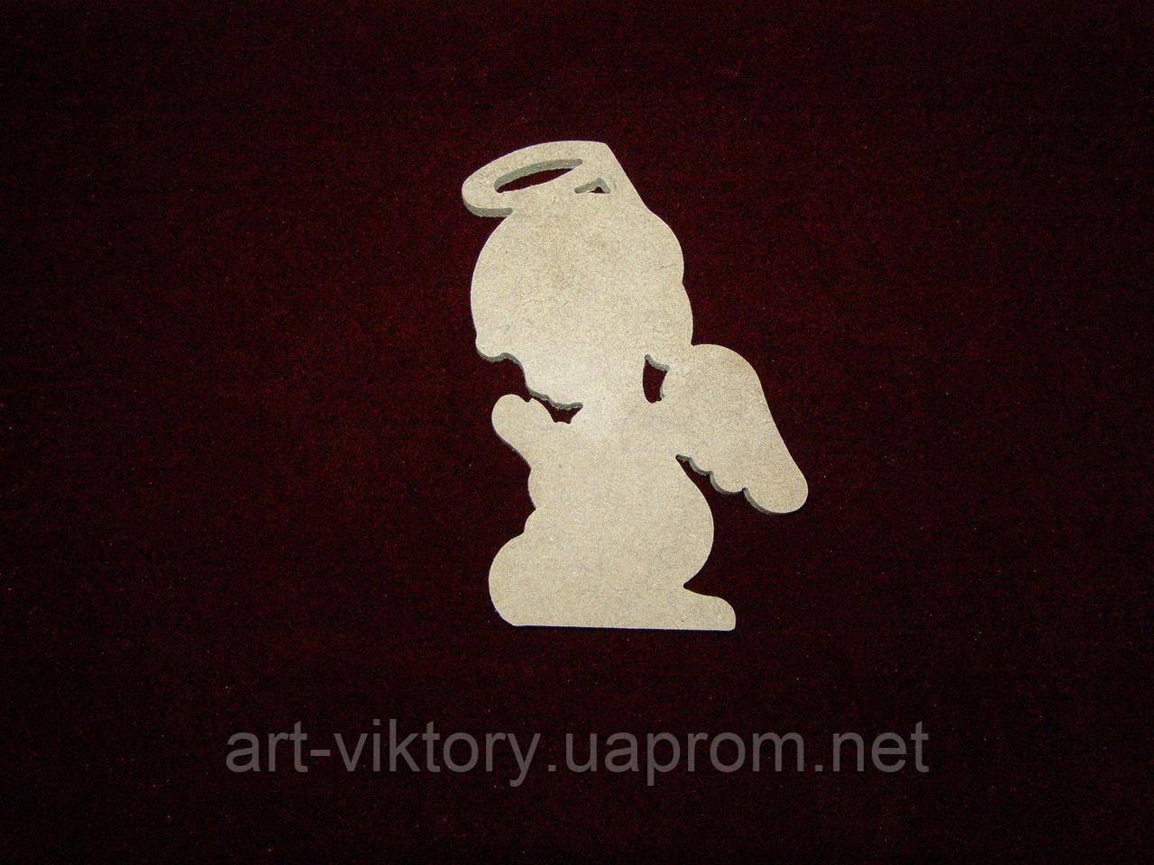 Ангел на коленях (8 х 12 см), декор
