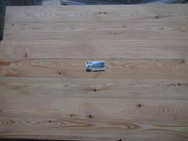 Шпунтованная доска пола 27х135, 5 сортов Сибирская лиственница от прямого поставщика