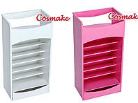 Женская косметичка (органайзер) для помад и маникюрных принадлежностей COSMAKE LIPSTICK & NAIL POLISH ORGANIZ