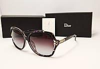 Женские солнцезащитные очки Dior 1803 (фантазия)