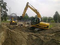 Вывоз грунта, супеси, глины, суглинка Выемка, перемещение и вывоз грунта Отсыпка грунта на участки