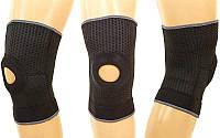 Наколенник (фиксатор коленного сустава) с открытой коленной чашечкой (1шт) GS-1460 (р-р регул.)