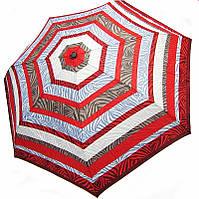 Полосатый женский зонт, полный автомат Doppler 744165P-8, система антиветер
