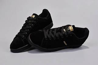 Кроссовки мужские Adidas Stan Smith Suede Black