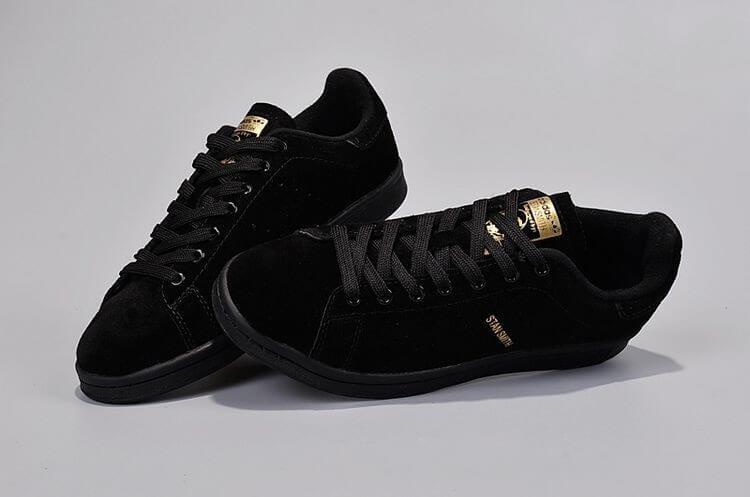 Кроссовки мужские в стиле Adidas Stan Smith Suede Black - FashionVerdict -  интернет-магазин одежды c173105f4e0
