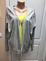 Кардиган женский кофта  грязно-серый длинный рукав р М- L  Vila