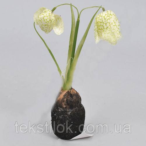 Весняний пролісок з цибулиною 19см штучні Квіти