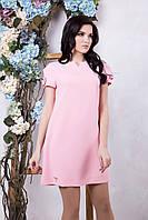 Летнее женское платье Фрида пудра ТМ Irena Richi 42-48 размеры