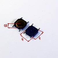 КНОПКА SMD 4*4*0.8 4x4x0.8 4x4x0.8 мм