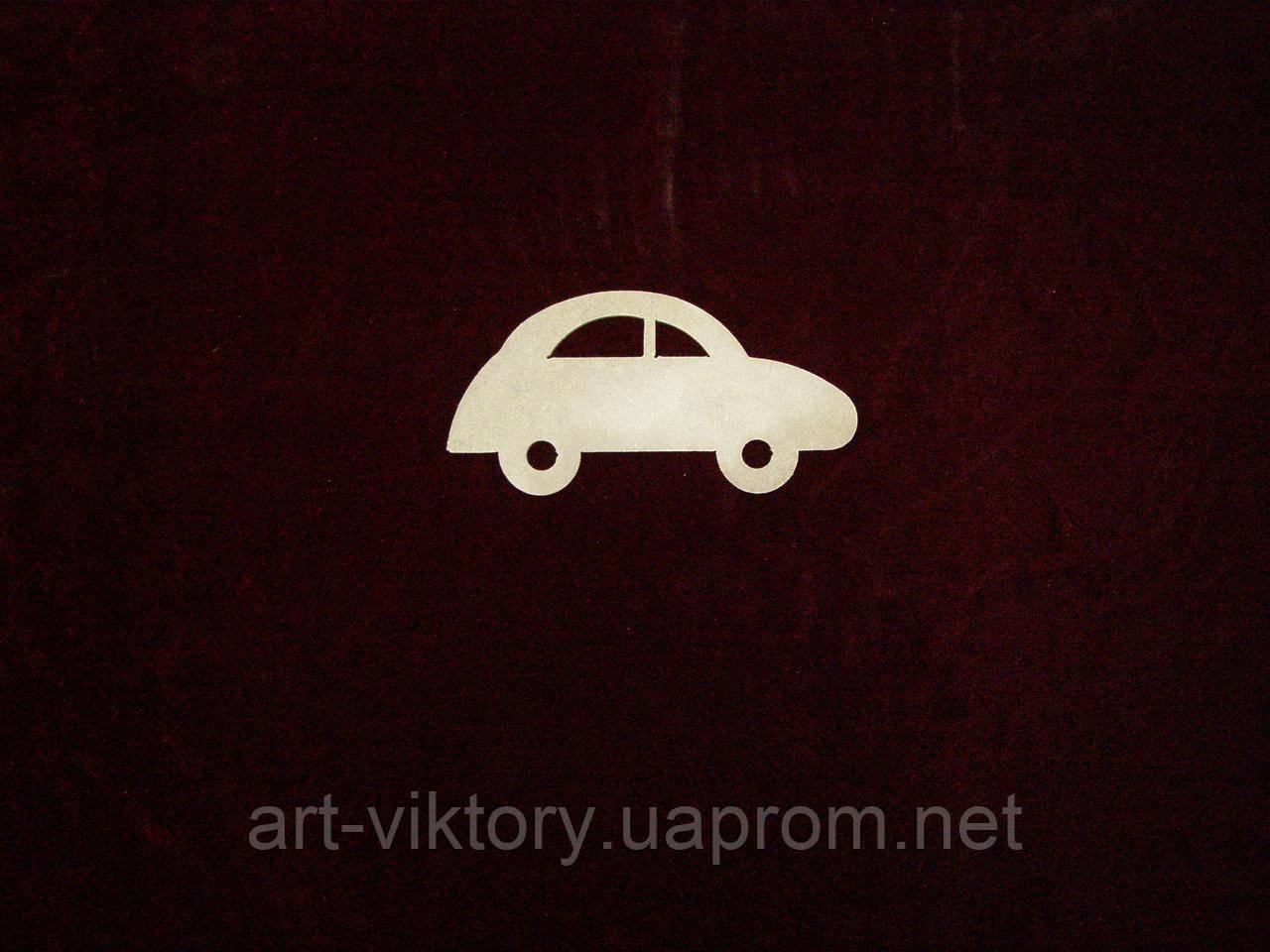 Машинка (17 х 8,5 см), декор