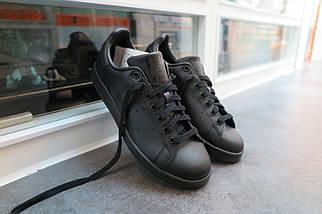 Кроссовки в стиле Adidas x Raf Simons Stan Smith Black, фото 3