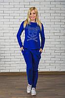 ЖІночий велюровий спортивний костюм.Розміри 42-54