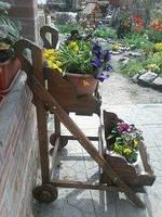 Подставка под цветы (декоративные изделия из дерева), фото 4